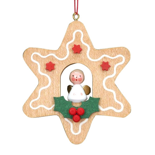Angel in a Gingerbread Star