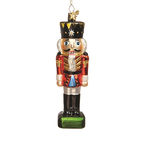 Glass Nutcracker King