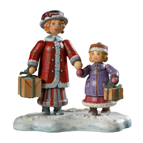 Christmas Parcel Limited Edition Figurine
