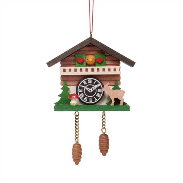Cuckoo Clock with Deer