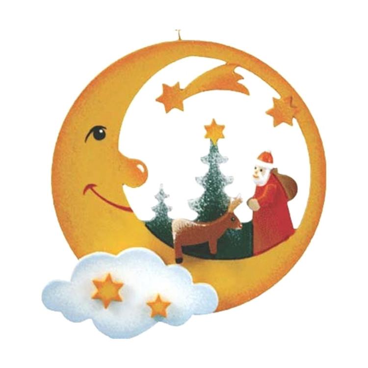 Santa In Moonlight