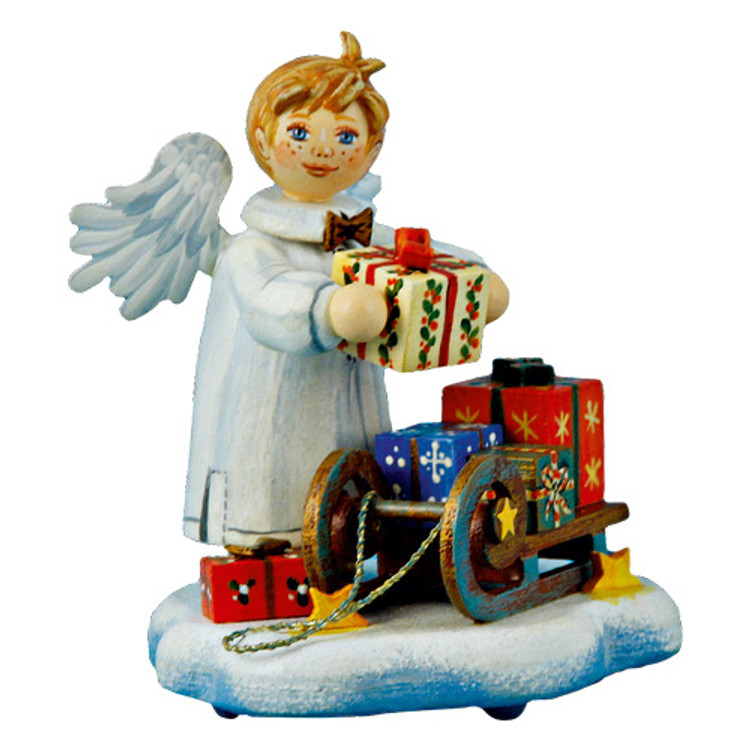 Packing the Sled Angel Boy