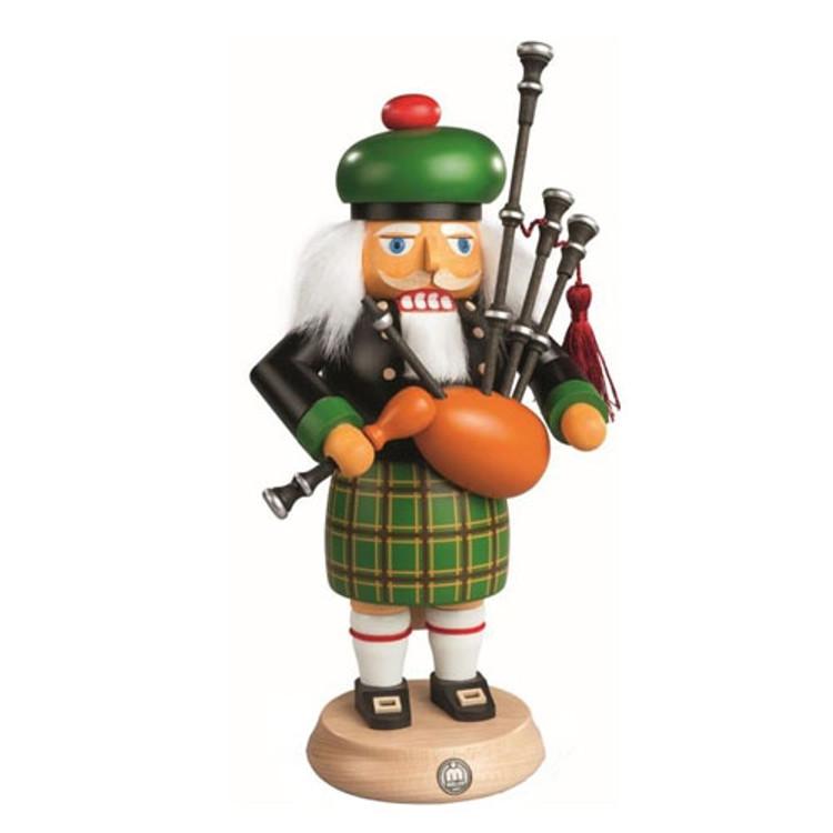 Scotsman Playing Bagpipes Nutcracker