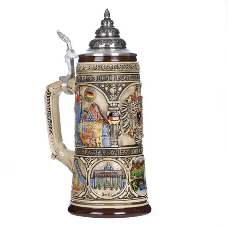 German Heritage Beer Stein