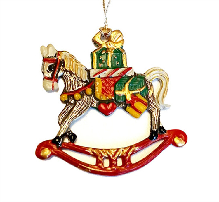 Rocking Horse with Gifts