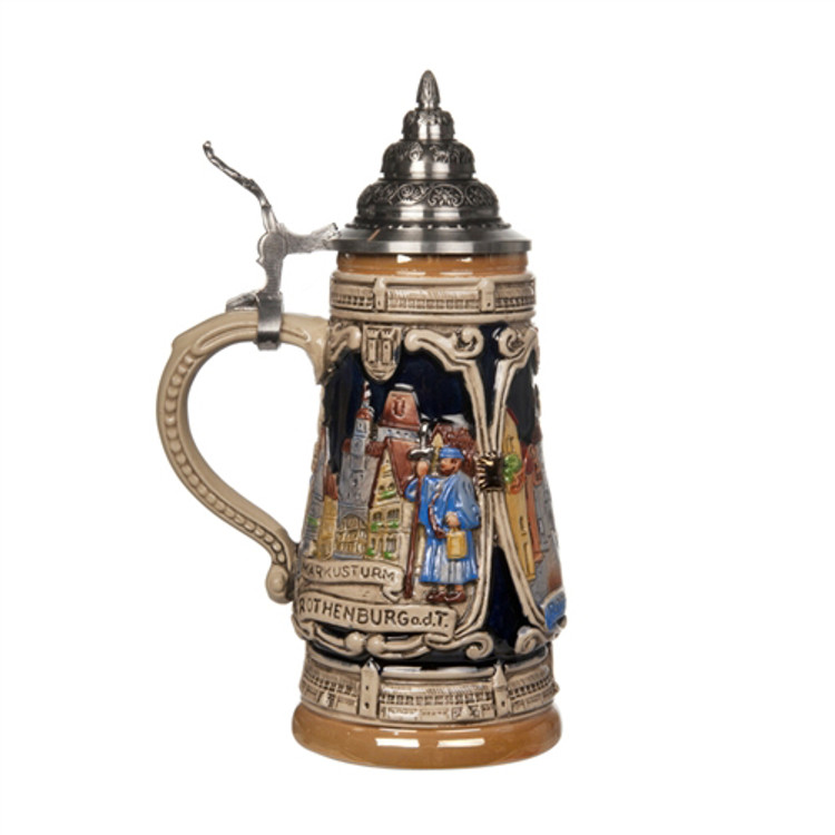 Rothenburg Landmarks Beer Stein
