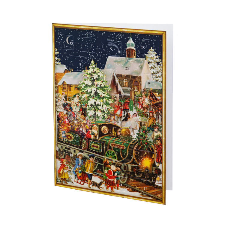 Christmas Card Advent Calendar