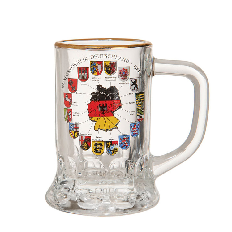 German Crest Shotglass