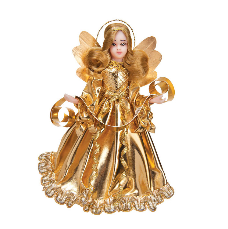 Choir Wax Angel in Gold Gown Wax