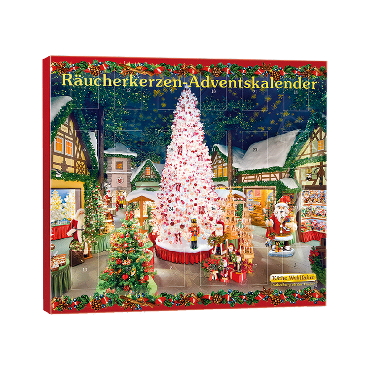 Christmas Village Incense Advent Calendar