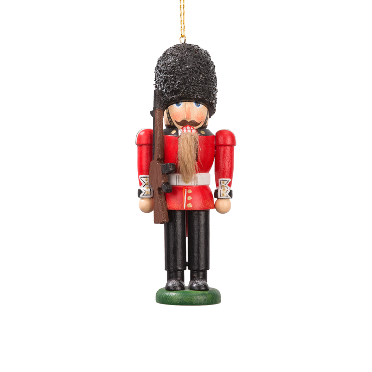Queen's Guard Nutcracker Ornament