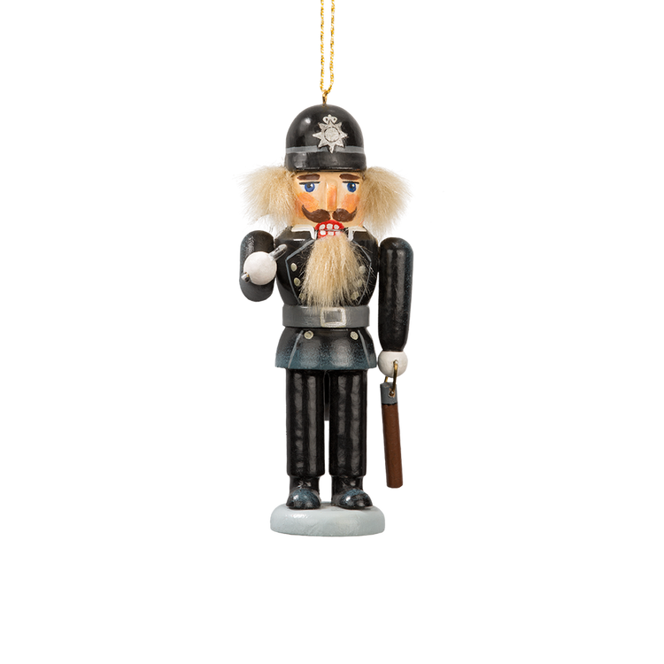English Bobby Nutcracker Ornament