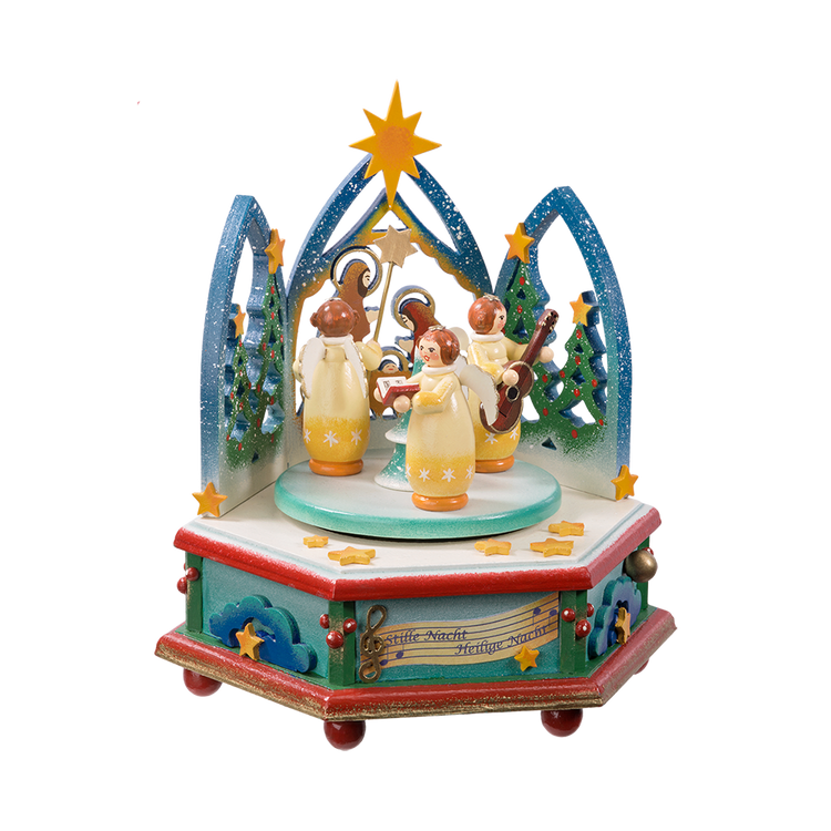 Silent Night Anniversary Music Box