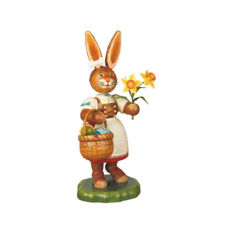 Girl Bunny Figurine