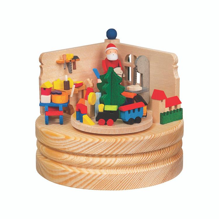 Toy Shop Trinket Wood Music Box
