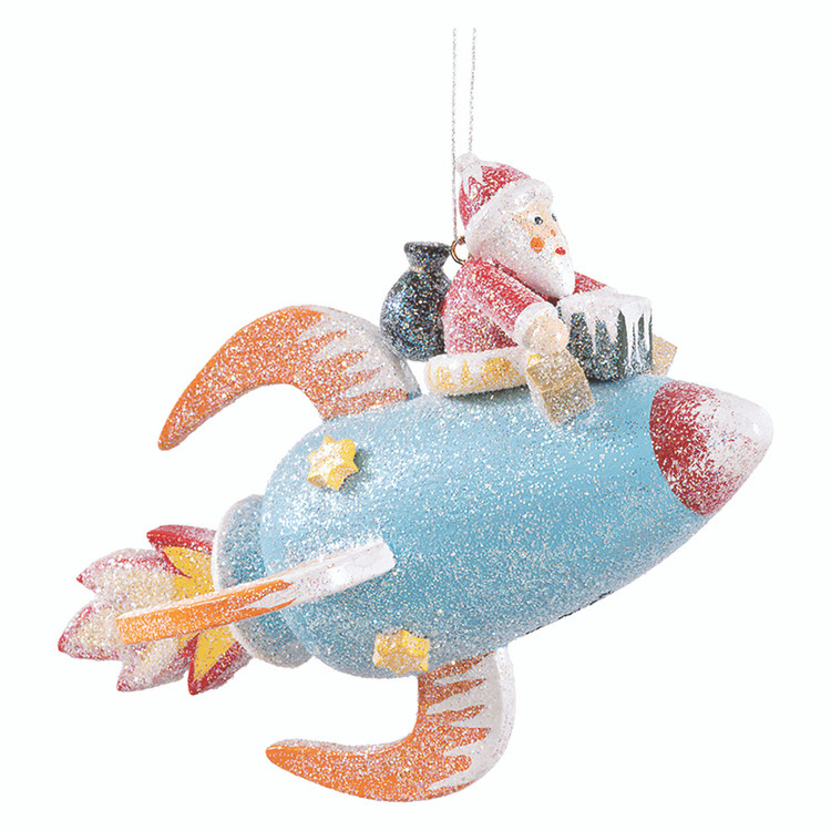 Frosty Santa Rocket