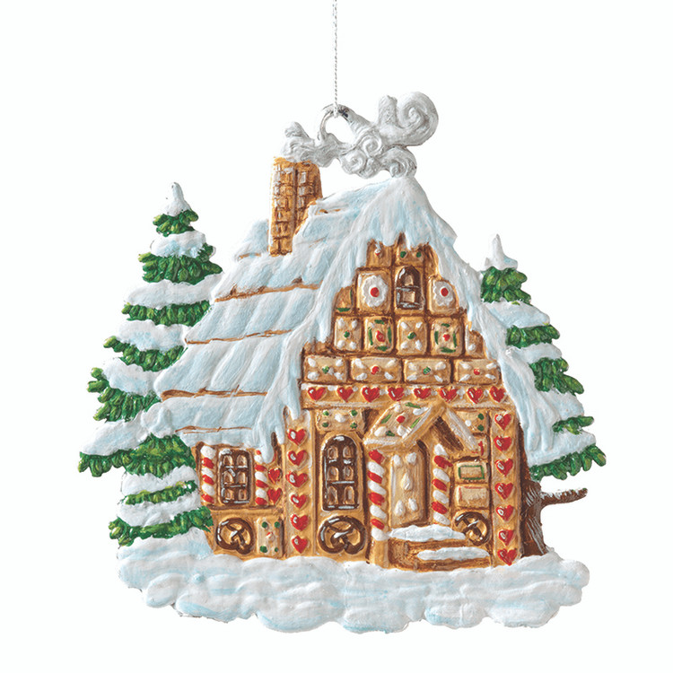 Gingerbread House Pewter