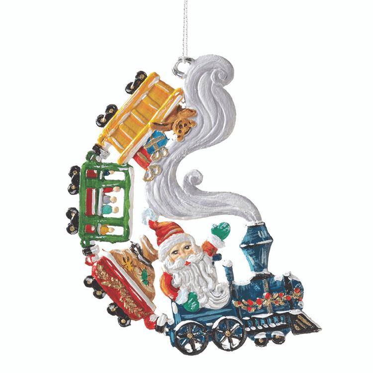 Santa Train with Toys