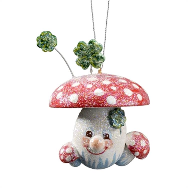 Frosty Good Luck Mushroom