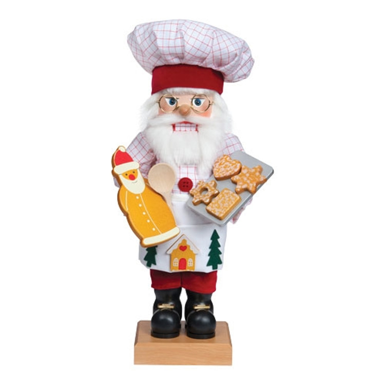 Santa Baking Gingerbread