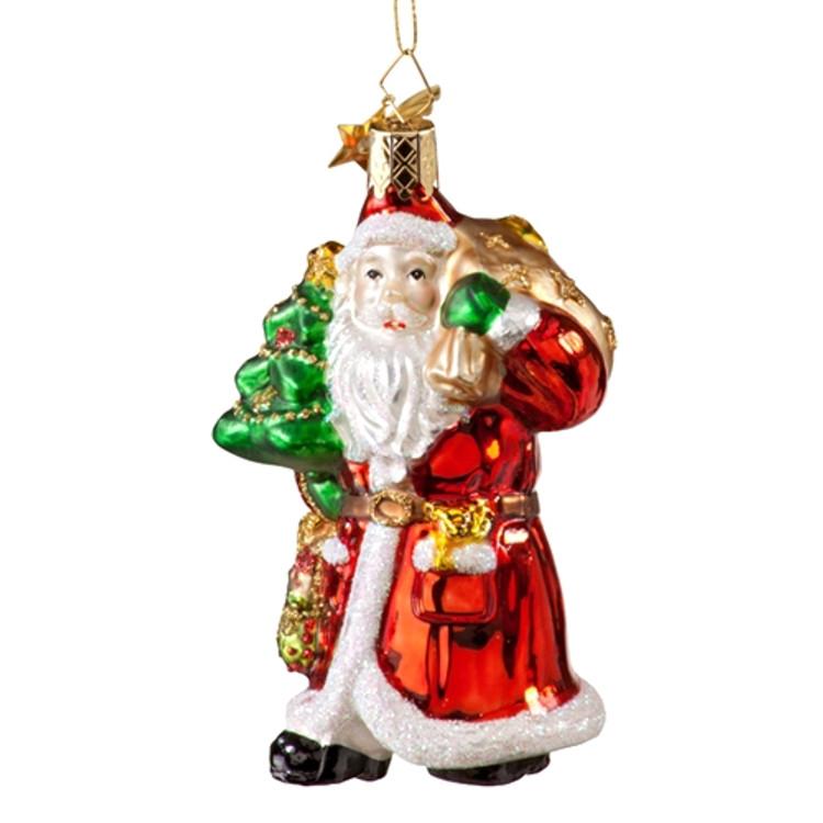 Santa with Tree and Toys