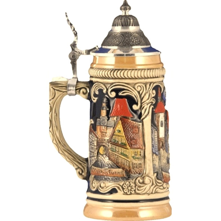 Rothenburg Landmark Scene Beer Stein