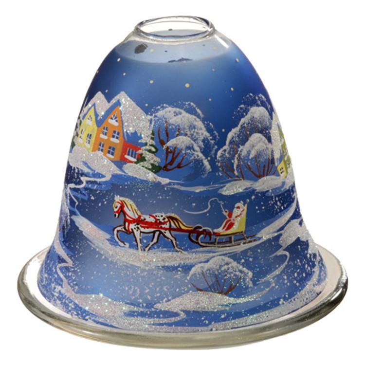 Christmas Sleigh Tealight Candleholder
