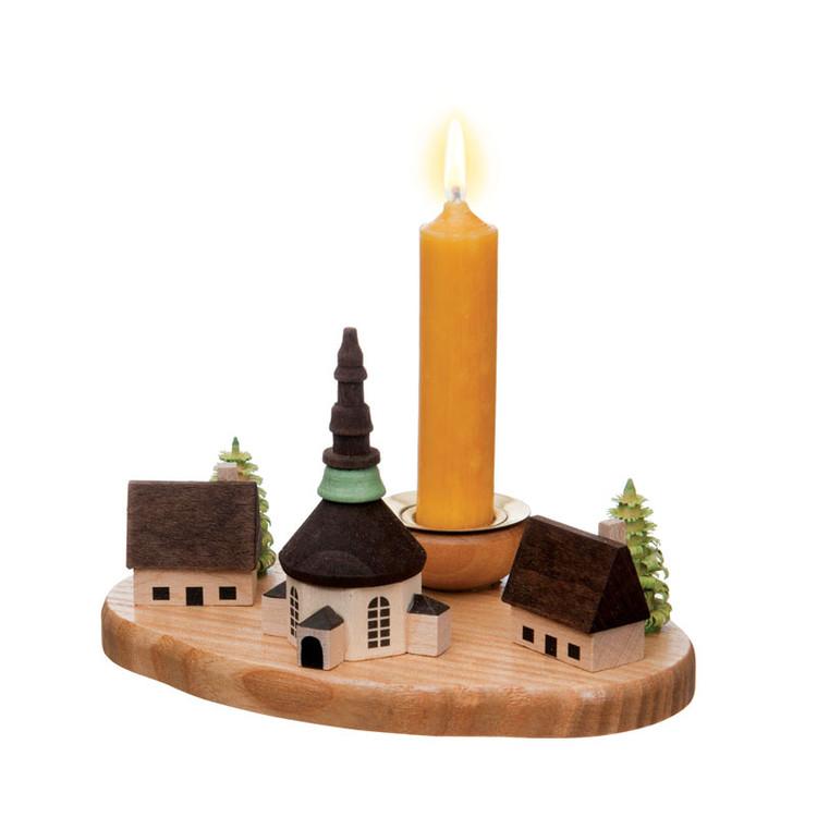 Seiffen Village Candleholder