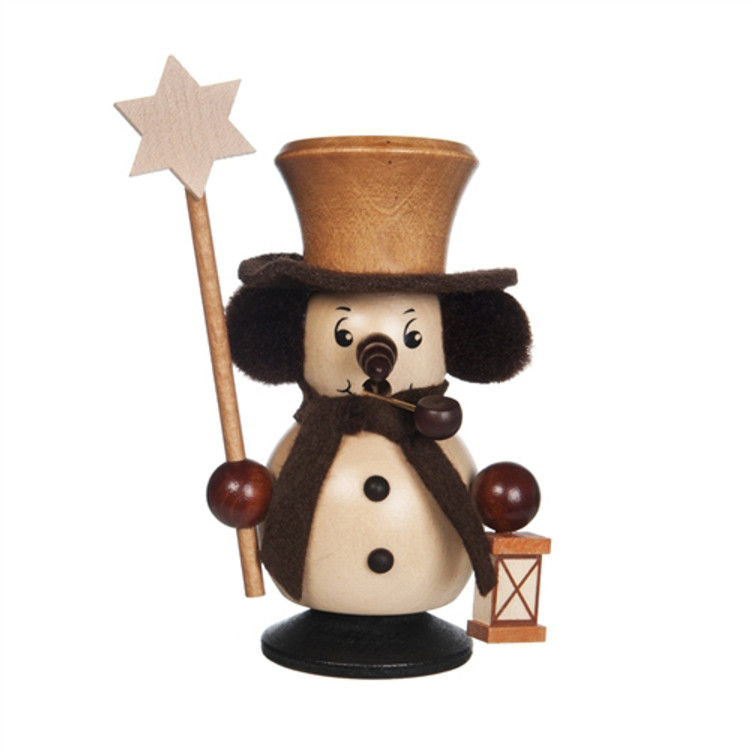 Snowman with Star