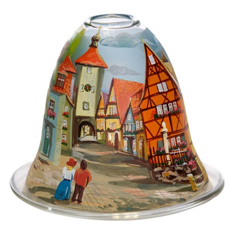 Rothenburg's Pl??nlein Bell Tealight Candleholder