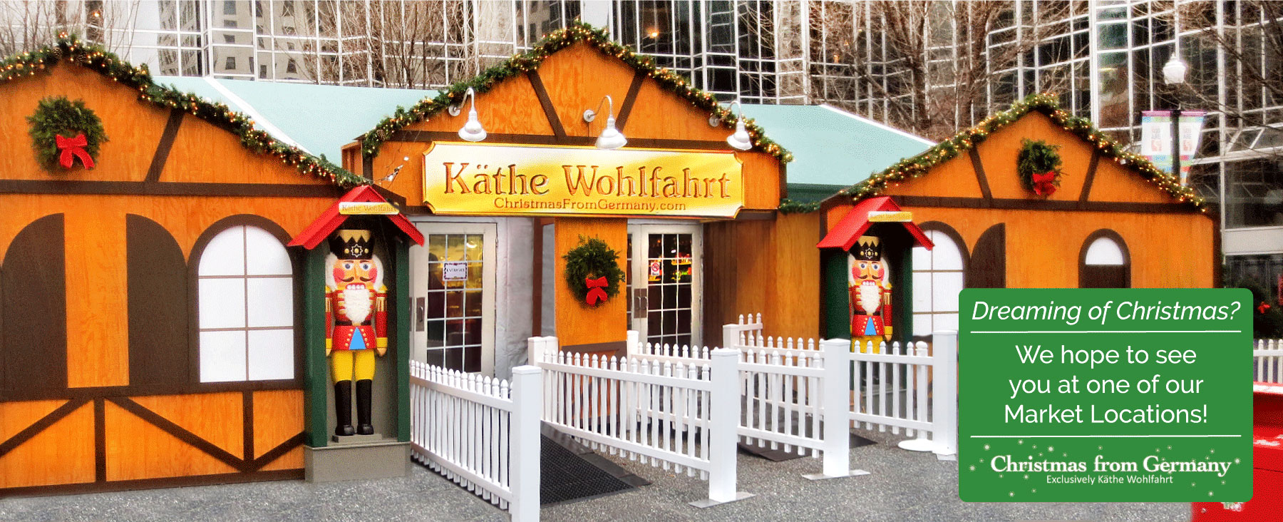 Visit one of our Holiday Market Locations.