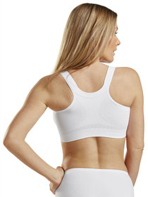 CareFix Alice Post-Op Bra - Back - White
