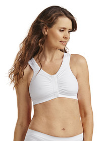 Bianca Post-Op Bra - Front - White