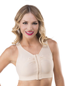 Compression Support Bra with Built-In Stabilisers