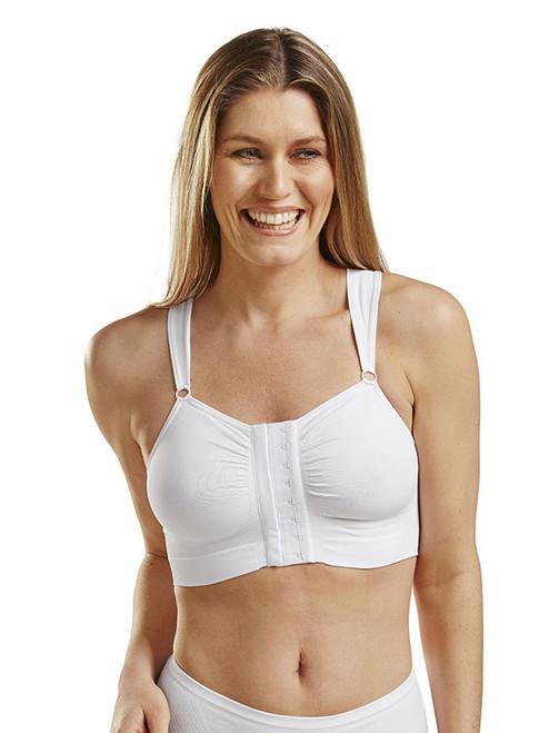 Bella Post-Op Bra - Front - White