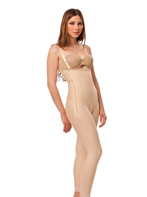 Stage 1 Body Suit with Suspenders - Ankle Length