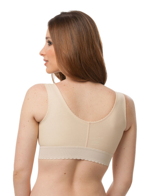 """Compression Bra with 2"""" Elastic Band - BR02"""
