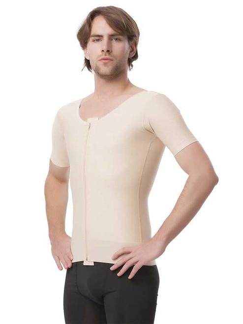 Male Compression Vest - Short Sleeves