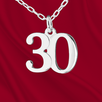 Sterling Number 30 Charm