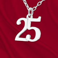 Sterling Number 25 Charm