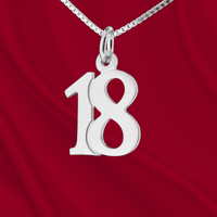 Sterling Number 18 Charm