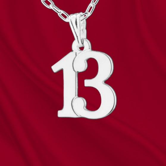 Sterling Number 13 Charm