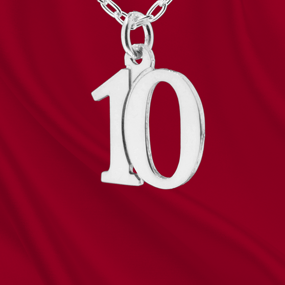 Sterling Number 10 Charm