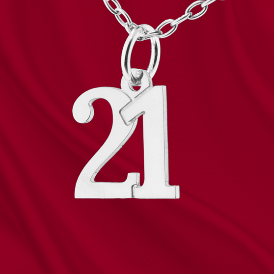 Sterling Number 21 Charm