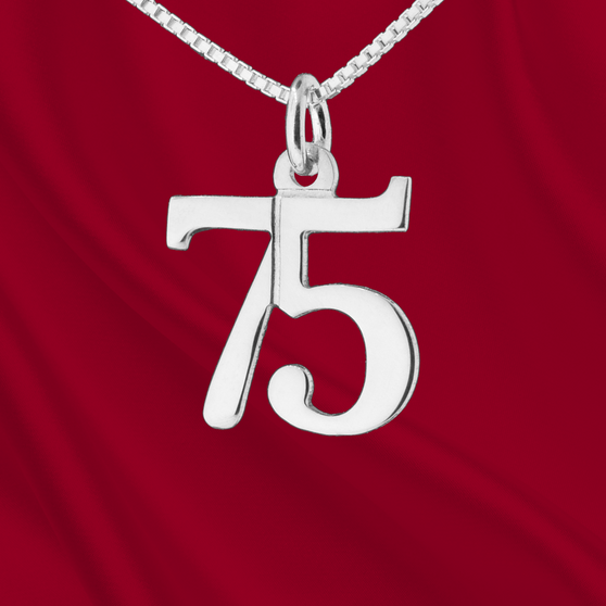 Sterling Number 75 Charm