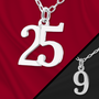 """""""Pretty Stylish"""" number charms"""