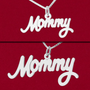 """""""Mommy"""" name charm size comparison"""