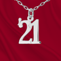 """Custom """"Annual"""" Sterling Number Charm"""