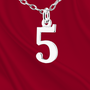 Sterling Number 5 Charm