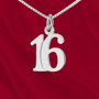 Sterling Number 16 Charm